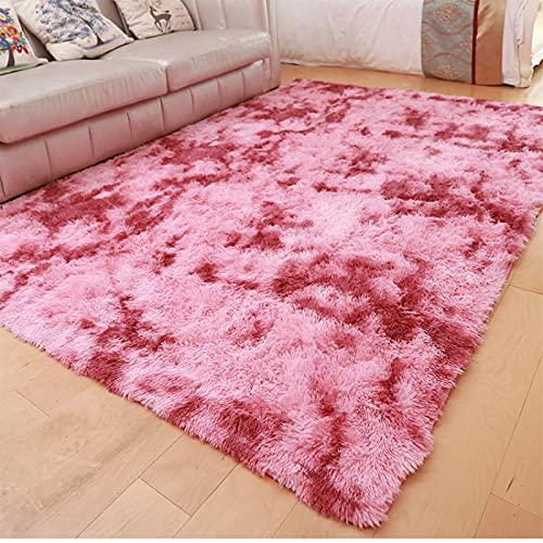 ZAZN Gradient Tie-Dye Teppich Nordic Minimalistischen Teppich Sofa Wohnzimmer Nachttisch Eingang Fußmatten Rutschfesten Boden