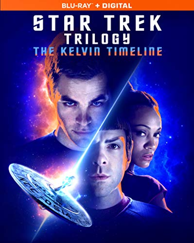 Star Trek Trilogy: The Kelvin Timeline (Blu-ray + Digital) - $12.96