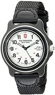Victorinox 249089 - Reloj analógico para hombre (cuarzo suizo), color negro, Original
