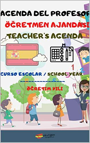 Agenda del profesor : Teachers Agenda - Öğretmenler ajandası (Agendas del profesor nº 1)