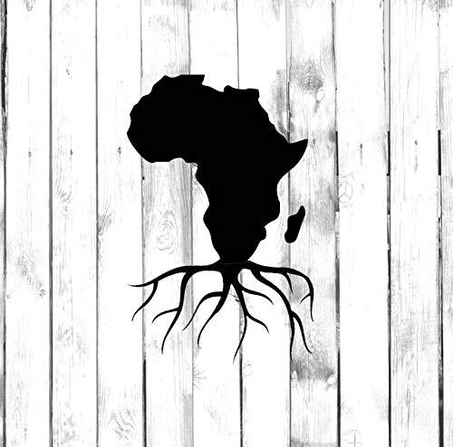 ZHYCT 2 Stück, Autoaufkleber Black Tree Roots Vinyl Autoaufkleber Aufkleber, mit reflektierenden Autoaufklebern für Tablet-Aufkleber, Wandaufkleber, Laptop-Aufkleber, Autoaufkleber
