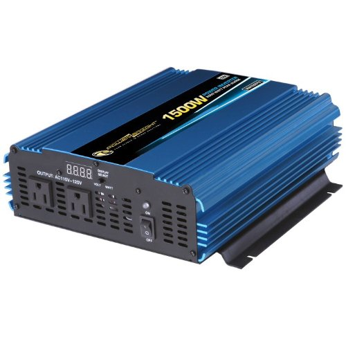 Power Bright 1500 Watt 12 Volt Power Inverter