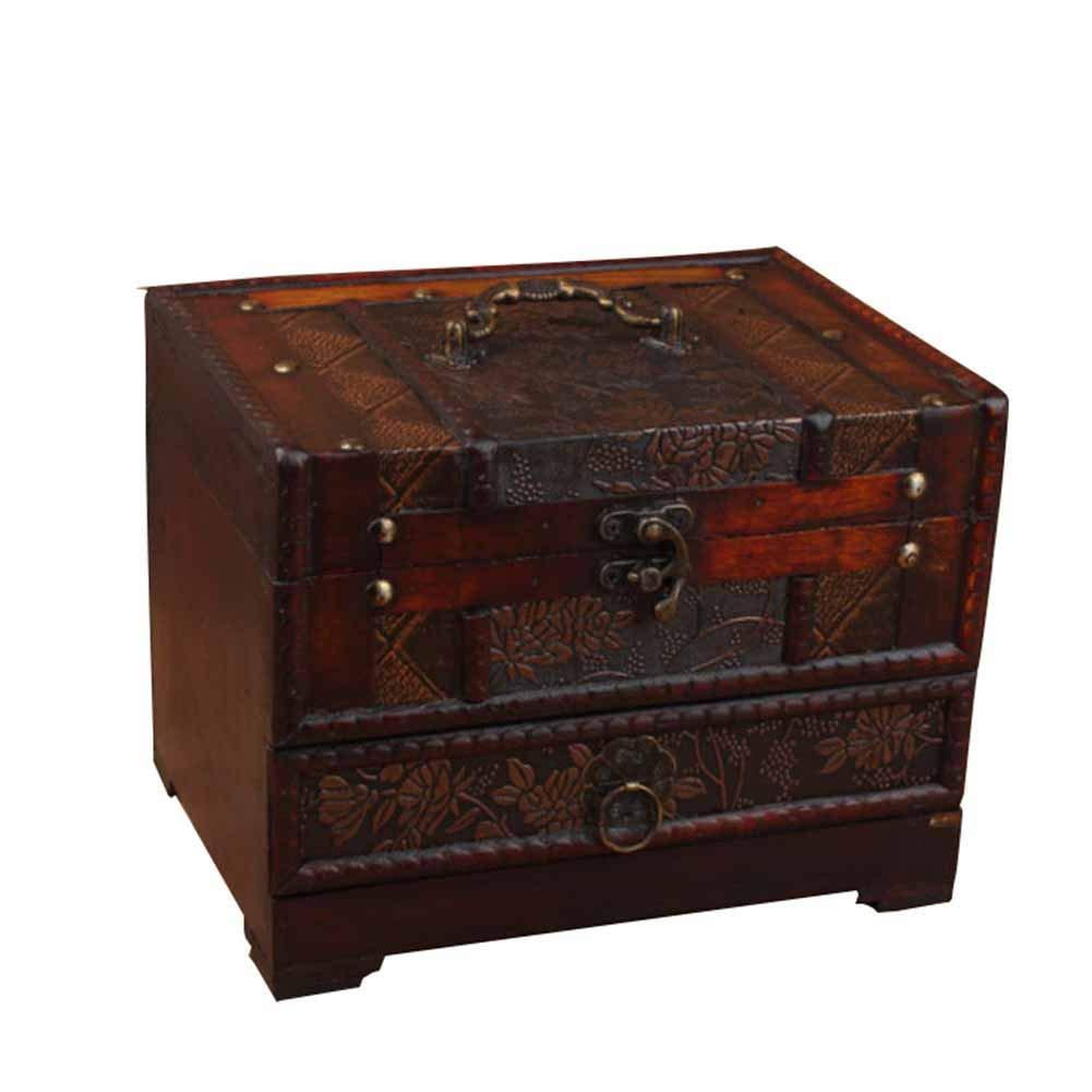 J.Me.Mi Joyero Caja Rectangular Grabado Flores Classic Lata del ...