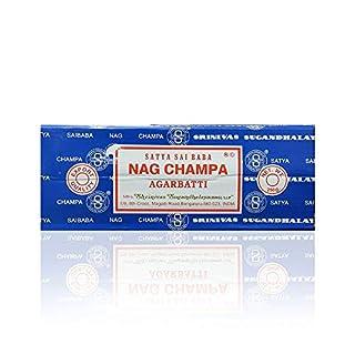 Sunrise Sandalwood Nag Champa Patchouli Set of 6 Midnight Celestial 15 grams NCS6 Satya