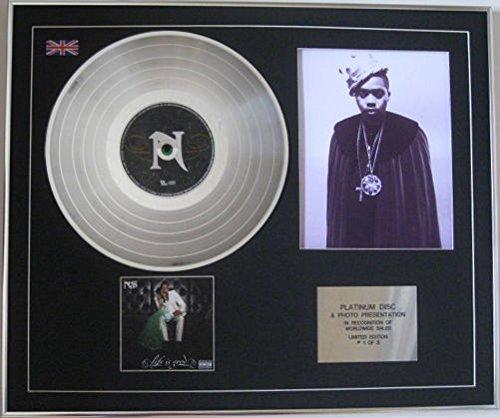 NAS - Platinum Disc CD + Photo - LIFE IS GOED