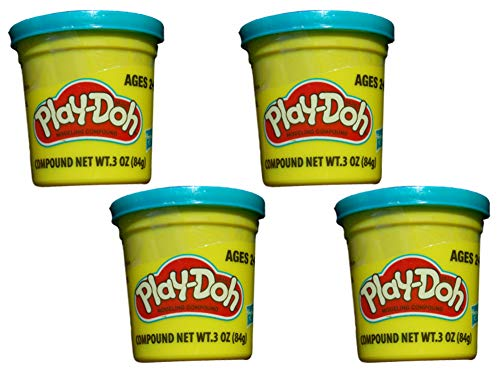 Play-Doh Blue (4 Pack) 3 Ounce Cans