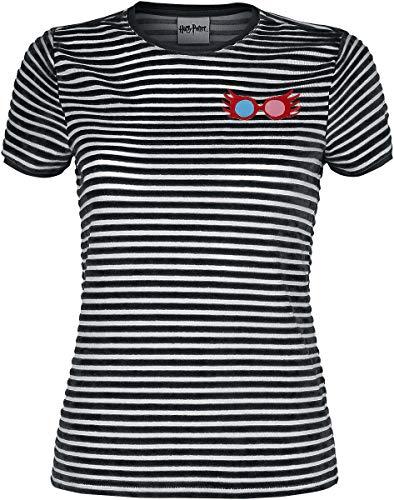 Harry Potter Luna Frauen T-Shirt schwarz/weiß XL