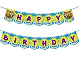 Scooby Doo Themed Happy Birthday Banner Party Supplies For Kids and...