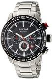 Sector Herren Analog Quarz Smart Watch Armbanduhr mit Edelstahl Armband R3273975002