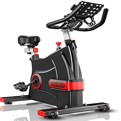 XJWWW-URG Asiento Ajustable y Manillar Cubierta Bici, Bicicleta estacionaria Ejercicio con Pulsómetro URG