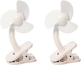 Dreambaby Clip-On Stroller Fan Pack of 2 - White