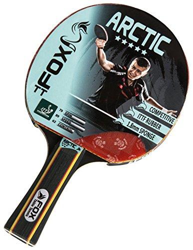 Fox TT Arctic 5 Star Bat Table Tennis Bat - Red