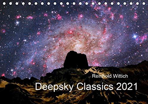 Deepsky Classics (Tischkalender 2021 DIN A5 quer)