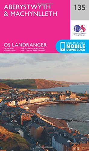 Landranger (135) Aberystwyth & Machynlleth (OS Landranger Map) by Ordnance Survey (2016-02-24)