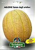 Sementi orticole di qualità l'ortolano in busta termosaldata (160 varietà) (MELONE RETATO DEGLI ORTOLANI)