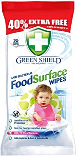 Greenshield OKN-7167 Food Surface Wipes (70 Pieces)