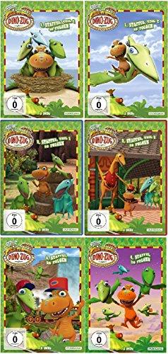 Dino-Zug - Staffel 1+2+3+4 (1.1 - 2.2 + 3 + 4) im Set - Deutsche Originalware [14 DVDs]