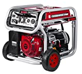 A-iPower SUA12000E 12,000-Watt Gasoline Powered Generator with Electric Start, Red/Black