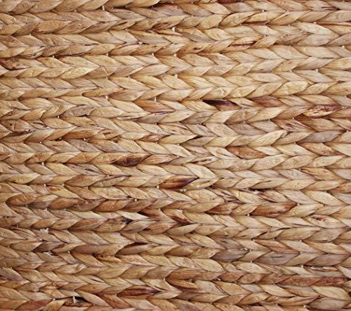 KMH® Charly, 3fach Wäschesortierer aus geflochtener Wasserhyazinthe, 82×42,5×52,5cm - 5