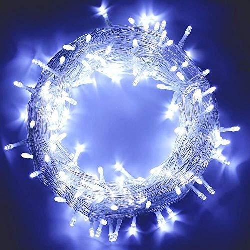Zuichu Kerstverlichting 20m200 LED Low Voltage 8 functie met geheugencontroller stekker en stopcontact tuin kerstverlichting