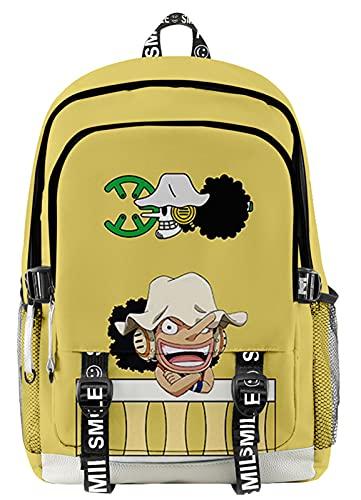 HANDAFA Unisex One Piece Large Capacity Schoolbag...