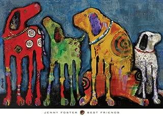 Best Friends by Jenny Foster Variety Dog Poster Print 26X36
