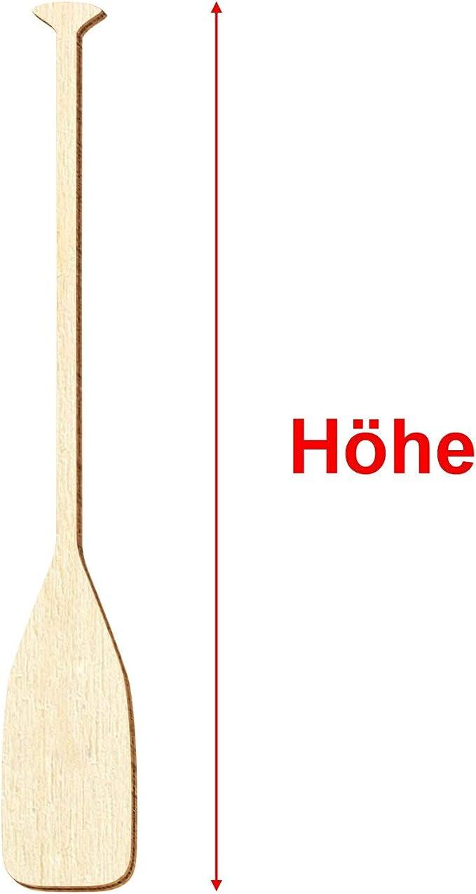 Paddel aus Holz 80 cm Länge Beau Rivage Maritime Dekoration