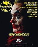 N / A Star del Cinema Joker Stampa su Tela Stampe su Tela Immagini per Pittura a Olio su Tela per Soggiorno Decorazioni per la casa50x60cm