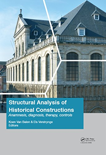 Structural Analysis of Historical Constructions: Anamnesis, Diagnosis, Therapy, Controls: Proceeding