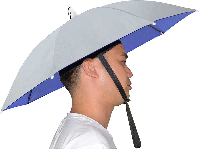 Product ChoZear Fishing Umbrella Atlanta Mall Hat Folding Mu Cap Adjustable Sun Rain