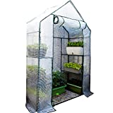 Serra Walk - in Greenhouse, Tenda da Coltivazione Grande con Porte Avvolgibili/Autoportante, per La Serra del Giardino Ddella Camera da Letto, per Fiori di Ortaggi