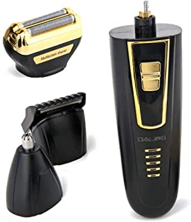 Hair Trimmers - 3 In 1 Multifunctional Waterproof Men Electric Shaver Razor Portable Quick Hair Trimmer Removal Device