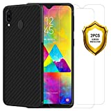 ANEWSIR for Samsung Ggalaxy M20 Screen Protector and Case