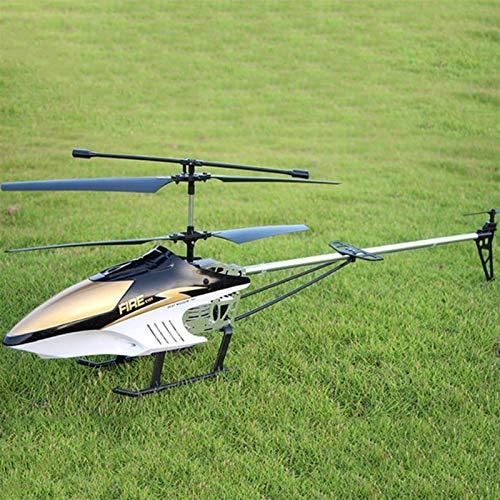 YLJYJ Avión de Control Remoto inalámbrico Extra Grande de 3,5 Canales, Color Rojo, Modelo de dron Duradero, helicóptero de Juguete controlado por Radio de 2,4 GHz para niños (Coche Inteligente)