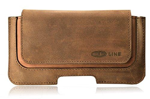 Funda Holster ORLINE Slim Cinturón de Piel para el LG K7Estuche de...