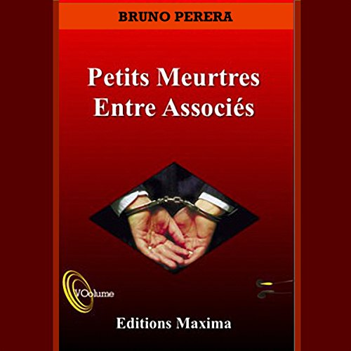 Petits meurtres entre associés audiobook cover art