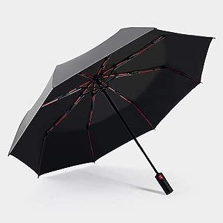 mini parasol de voyage avec poign/ée de confort 8 c/ôtes porte-parapluie en alliage daluminium rev/êtement anti-UV de colle noire Parapluie solaire anti-UV parapluie pliant compact de haute qualit/é