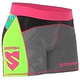 SMMASH Go Candy Neon Leggins Cortos Deportivos para Mujer Pantalones Cortos Mujer, Yoga, Fitness, Crossfit, Correr, Material Transpirable y Antibacteriano, (M)