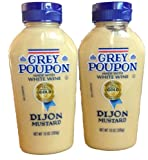 Grey Poupon, Dijon Mustard, 10oz Squeeze Bottle (Pack of 2)