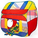 KIDUKU Bällebad XXL + 300 Bälle + Tasche Spielhaus Babyzelt Spielzelt Kinderzelt ideal für dinnen...