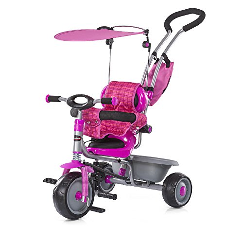 Rose Chipolino Criss Cross Tricycle with Canopy