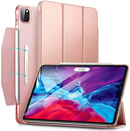 ESR Yippee Trifold Smart Case for iPad Pro 12 9 2020 2018 Lightweight Stand Case with Clasp product image