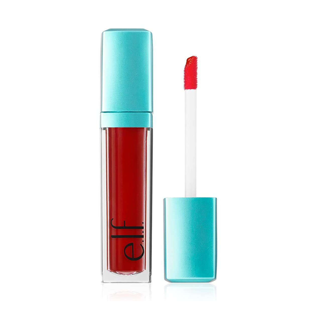 予測子寄生虫はちみつ(6 Pack) e.l.f. Aqua Beauty Radiant Gel Lip Stain - Red Orange Wash (並行輸入品)