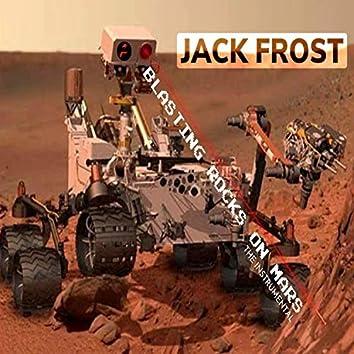 Blasting Rocks On Mars