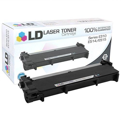 LD Compatible Toner Cartridge Replacement for Dell 593-BBKD E310dw E514dw E515dn E515dw High Yield (Black)