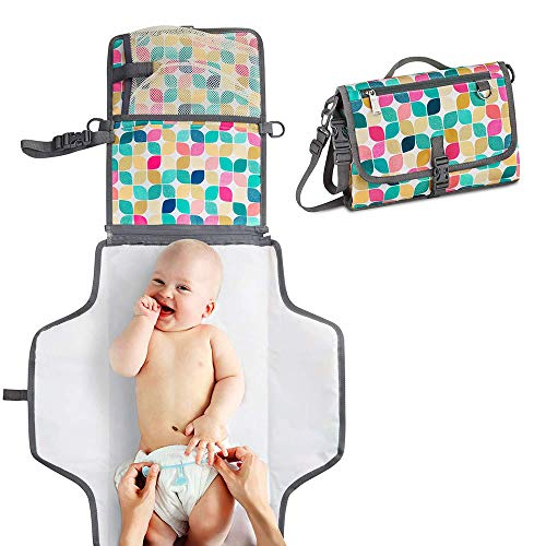 GESS Baby Faltbare frank Oxford Tuch Windel Pad, multifunktionale tragbare Anti-Urin-Pad
