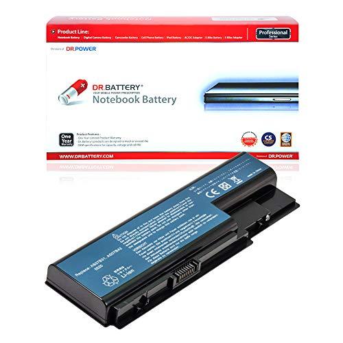 Dr. Battery Laptop Battery for Acer AS07B41 AS07B31 AS07B61 AS07B71 Aspire 5739G 5920G 5935G 6930 5720 7730 7736G 7736ZG [11.1V/4400mAh/49Wh]