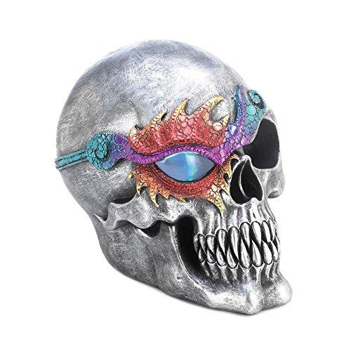 Skull Decor, Skull Decorations Bedroom, Fantasy Skull Figurine with Led Light