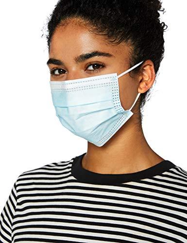 Jointown Masque Facial en Polypropylène à 3 Couches (Paquet de 50 Pièces)