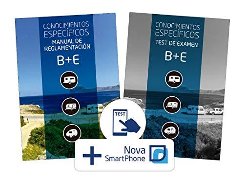 Pack Coche con Remolque Manual Permiso B + E y Test de Examen B + E. Estudia y Aprueba de la mano de la Editorial Etrasa Número Uno del Sector de las Autoescuelas